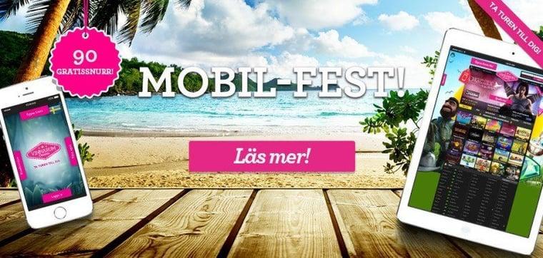 Fullt fokus på mobilcasino hela helgen!
