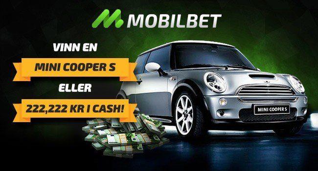 Lira med Mobilbet casino och vinn en bil