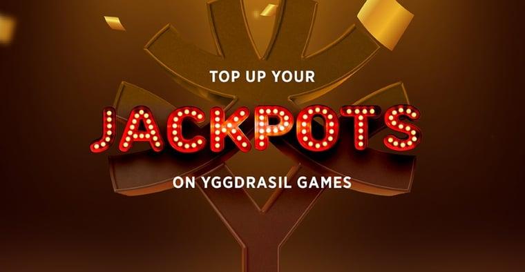 Ny TopUp-funktion på Yggdrasils lokala jackpottar
