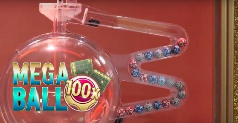 Mega Ball - Senaste livespelet är en mix av lotto och bingo