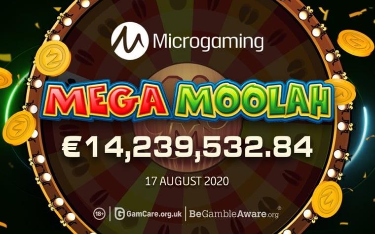 Ny rekordvinst i Mega Moolah – över 14 miljoner euro
